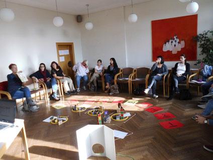 """Seminar: """"Lernen lernen"""" für HortpädagogInnen, durchgeführt von Roswitha Hafen, finanziert und organisiert vom Referat Kinderbildung und Betreuung des Landes Steiermark."""