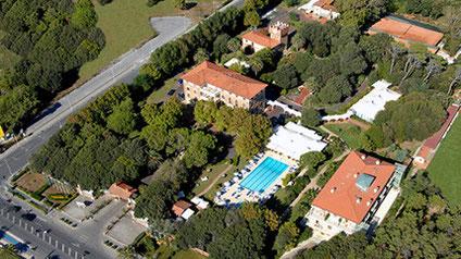 Golfreise Italien Golfpaket Golf Ferien Reisen Versilia Forte dei Marmi Riviera Golfhotel edel authentisch exklusiv