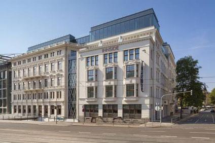 Fertigstellung Dachdeckerarbeiten Neubau Hotel Innside by Meliá Leipzig