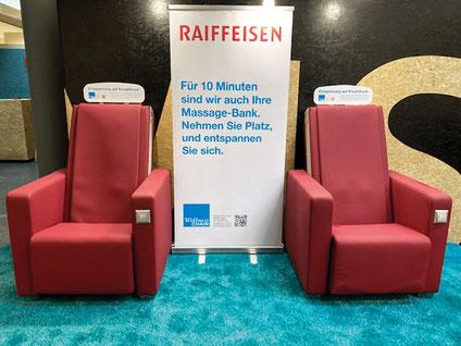 Werbebanner Wellness-chair