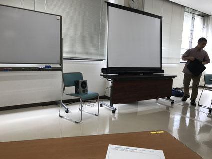 うつ病予防講座の風景