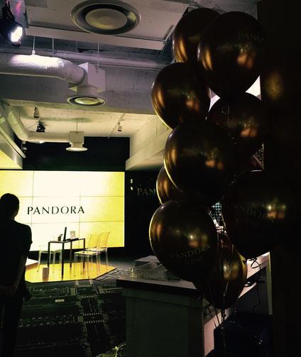 ジュエリーブランドPANDORA様のパーティーでワンポイントネイルアート体験