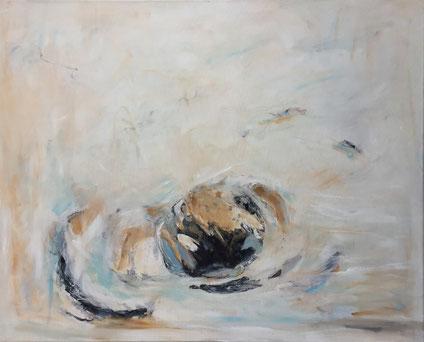Fragmente, Mischtechnik, 80 x 100 cm, 2016