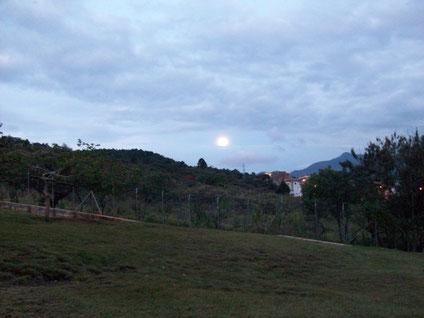Atardecer en Quitasol. Tomada el 17 de febrero de 2011