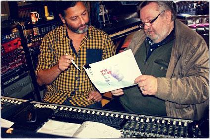 Ossy Pfeiffer und Uwe Schreiner. Foto: Ira Thorsting