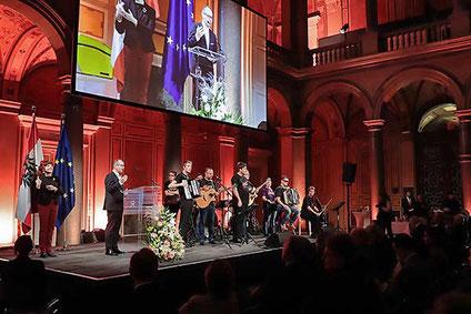 Festakt 100 Jahre Sozialministerium im Museum für angewandte Kunst