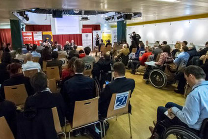 Induktive Höranlage beim Österreichischer Behindertenrat - Veranstaltung zum Zertifikat für Barrierefreiheit
