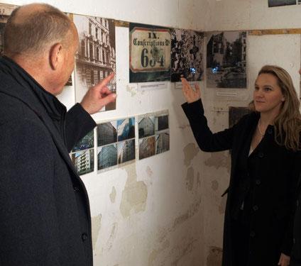 Befreiungsmuseum Wien. Bunker im Arne Carlsson Park 1090 Wien