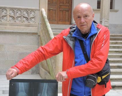 Nach gut 500 km musste leider wegen Knieprobleme mein Pilgerweg in Salamanca abbrechen. Hoffentlich geht es bald wieder weiter.