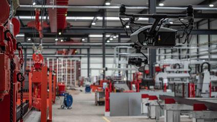Drohne, Inspire 2, Flightseeing