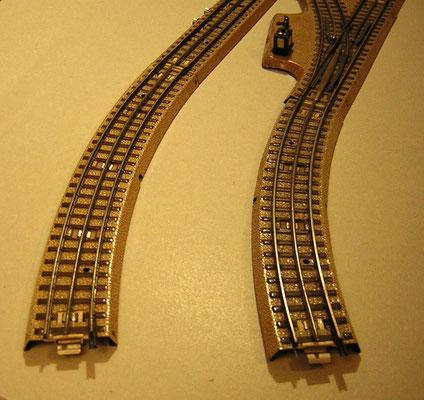 Parallelgleise 3600 A 1/1 und 3700 A 1/1