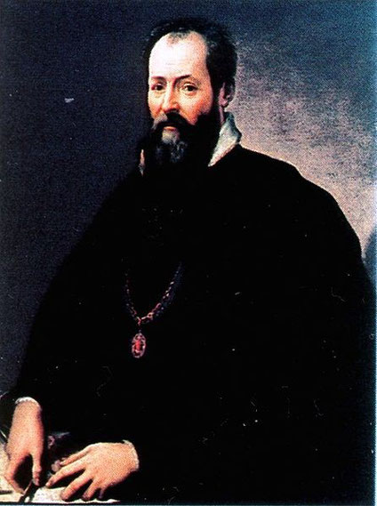 Giorgio Vasari, Autoportrait,  (source : cliquez sur l'image))