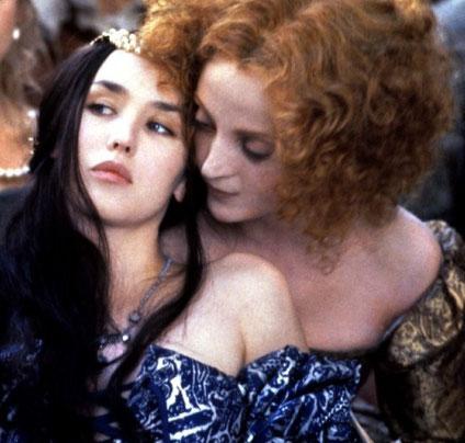 """Scène du film """"La Reine Margot"""" (1994) de Patrice Chéreau (source : www.toutlecine.com)"""