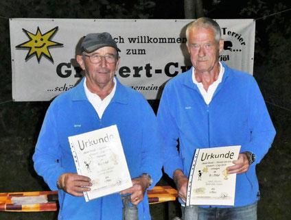 Bernd-Rito Sönksen und Horst Hansen - 4. Platz B-Pokal