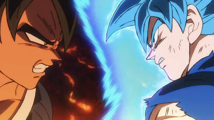 dragonball super broly son goku vegeta freezer