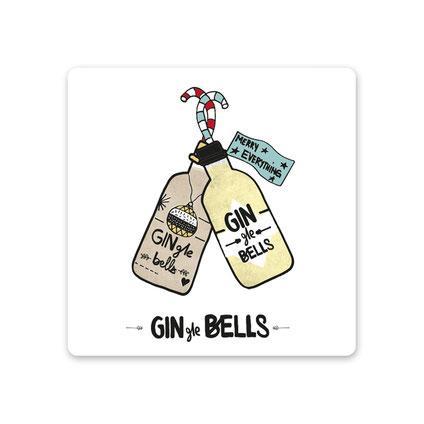 """Keramikuntersetzer """"GINgle Bells"""" von Formart"""