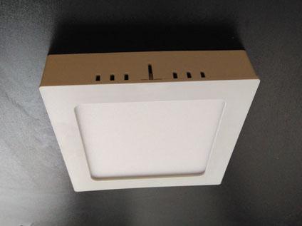 монтаж потолочных светодиодных светильников накладных