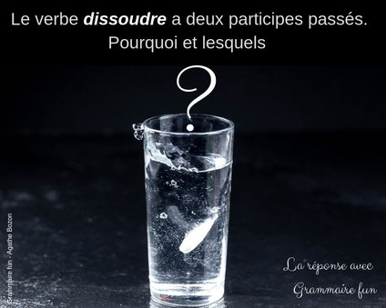 Participes Passes Absoudre Et Dissoudre Reforme Orthographe 1990 Redactrice Formatrice Orthographe Et Grammaire