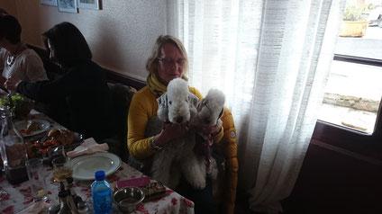 """Eliane une vraie """"maman chien"""", j'adore ! Bisous"""