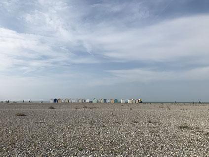 Plage de galets de Cayeux-sur Mer - Septembre 2020