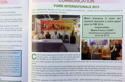 Foire Internationale 2013