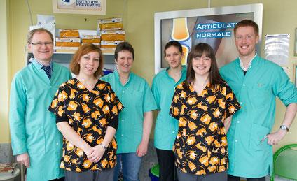 Je vous présente notre équipe vétérinaire de la Clinique du Vendôme.