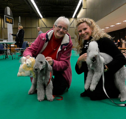 avec Wilma et Famke à Eindhoven