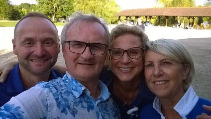 Selfie avec Dominque et René à la NE 2016