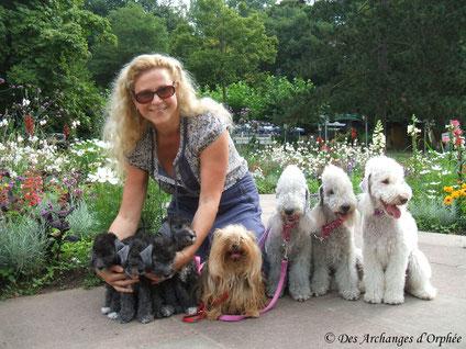 Les Miss et nos 4 Archanges d'Olga été 2014