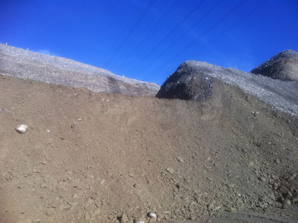 Gravel extraction site