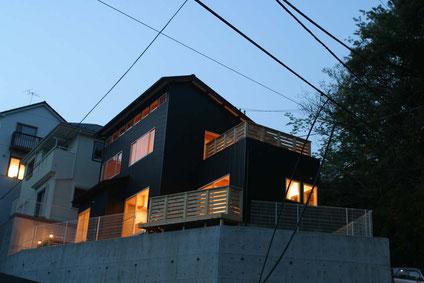 神奈川県鎌倉市 木の家・自然素材の家・注文住宅