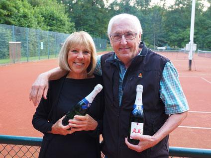 Sieger des Tennis Spaßturniers zum Saisonabschluss am 03.10.2020