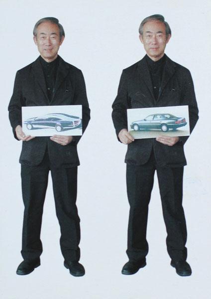 Кунихиро Учида, один из главных дизайнеров Toyota Motors. В 2005 году Василий Шишкин выступил соорганизатором приезда Учидо в Санкт-Петербург