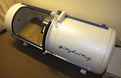 酸素カプセル・外観