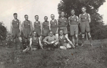 Bild: Wünschendorf Handballmannschaft 1935