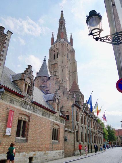 Belgien, Brügge Liebfrauenkirche Gruuthusepalais