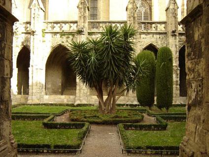 Le cloître St Just à Narbonne