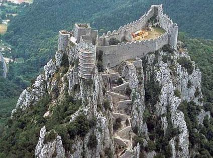Le Chateau cathare de Puylaurens