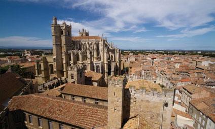 La cathédrale St Just à Narbonne
