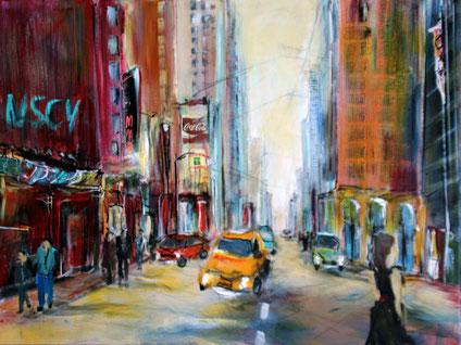 Straßenscene NewYork