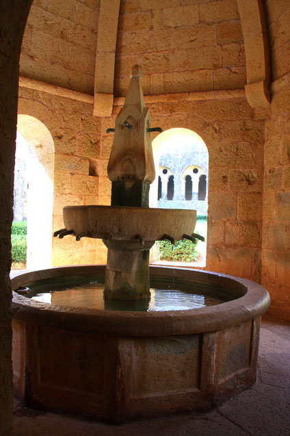 Bild: Fontaine in Abbaye le Thoronet
