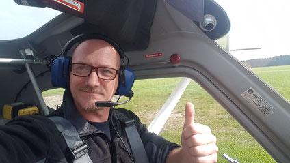 Sportpilot und Herr der Lüfte