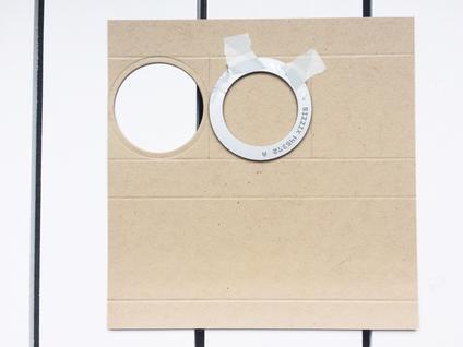 Stampin-Up Papierwunder Stanze Stickmuster Big Shot Framelits Kreis Verpackung Ostern