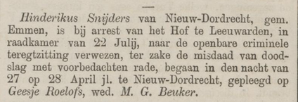 Provinciale Drentsche en Asser courant 29-07-1876