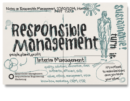 Responsible Management, CSR, Nachhaltigkeit, Sustainability,