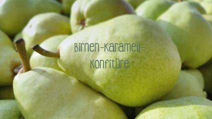 Birnen-Karamell-Konfitüre