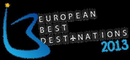 Top 10 destinations in Europe - European Best Destinations - EBD 2013