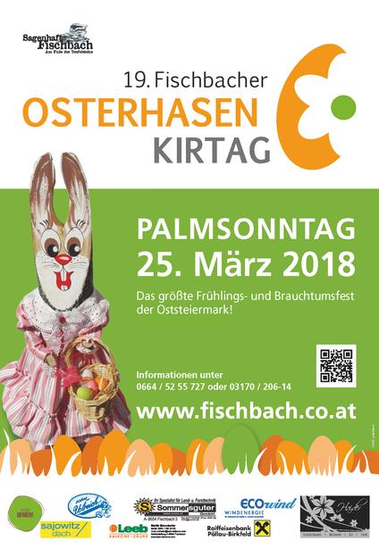 Plakat Osterhasenkirtag 2018
