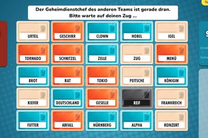 Codenames Spiel Online Games mit Freunden Geburtstag