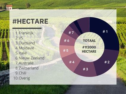 Pinot Noir per land